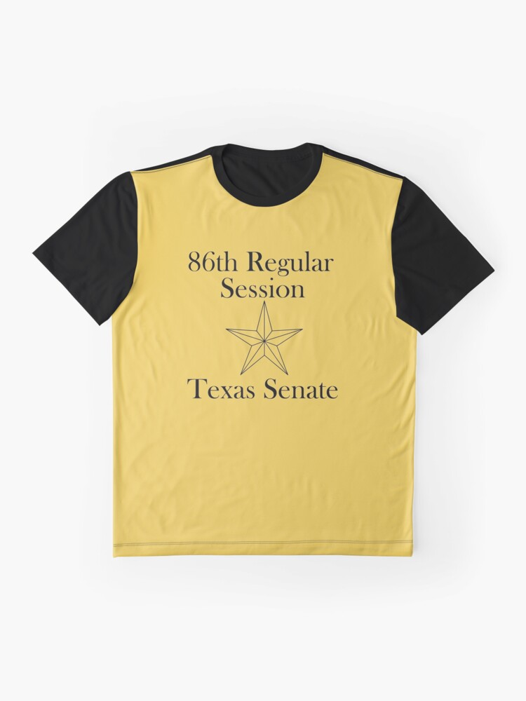 Alternate view of Texas Senate - 86th Regular Session - Texas Legislature Graphic T-Shirt