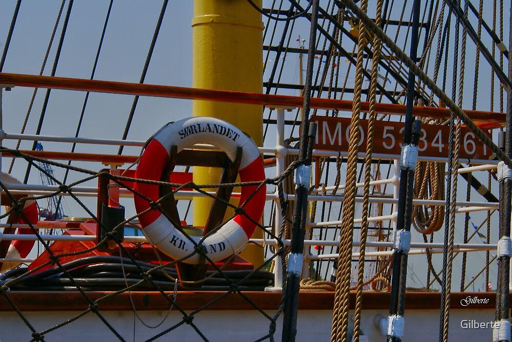 Life-buoy - Sorlandet - Antwerp by Gilberte