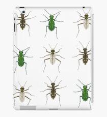 Tiger beetle trio iPad Case/Skin