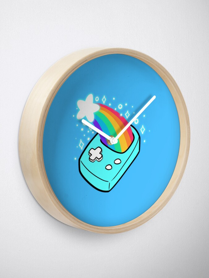 Alternate view of Shooting Star Rainbow Handheld Game Clock
