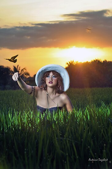 One Day I'll Fly Away by Antoine Dagobert