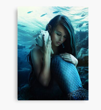 Sea song Canvas Print