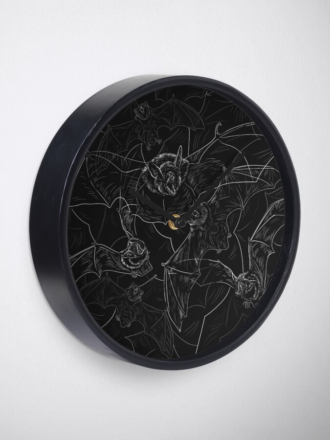 Alternate view of Bat Attack Clock
