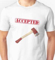 Camiseta unisex Accepted
