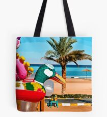 beach toys #1 Tote Bag