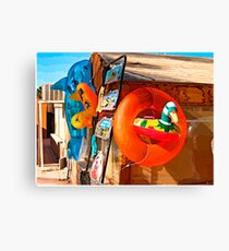 beach toys #2 Canvas Print