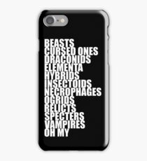 Witcher's Bestiary iPhone Case/Skin
