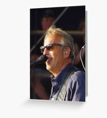 Kevin Costner - BVJ Greeting Card