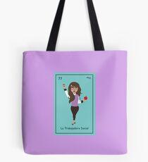 La Trabajadora Social No Apple Tote Bag