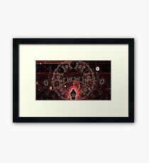 Kneel before the Keepers of the Continuum Framed Art Print