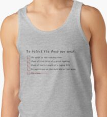 Let's Get Down to Business... Tank Top