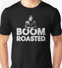 Boom. Roasted. - Michael Scott Slim Fit T-Shirt