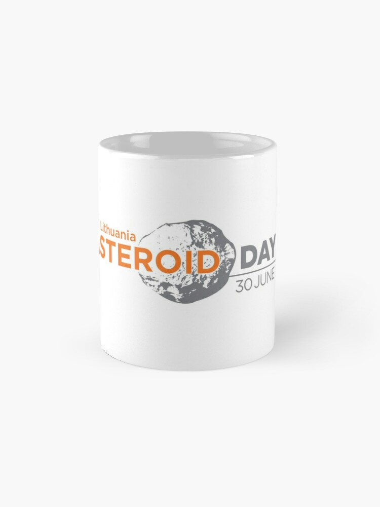 Alternate view of Asteroid Day Lithuania  Mugs