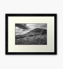 Mount Errigal and the Derelict Church Framed Print