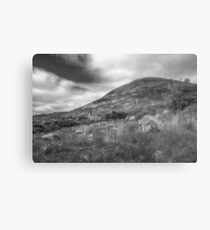 Mount Errigal and the Derelict Church Metal Print