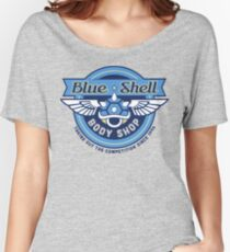 Blue Shell Auto Body Women's Relaxed Fit T-Shirt