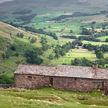 Swaledale From Kisdon by SteveMG