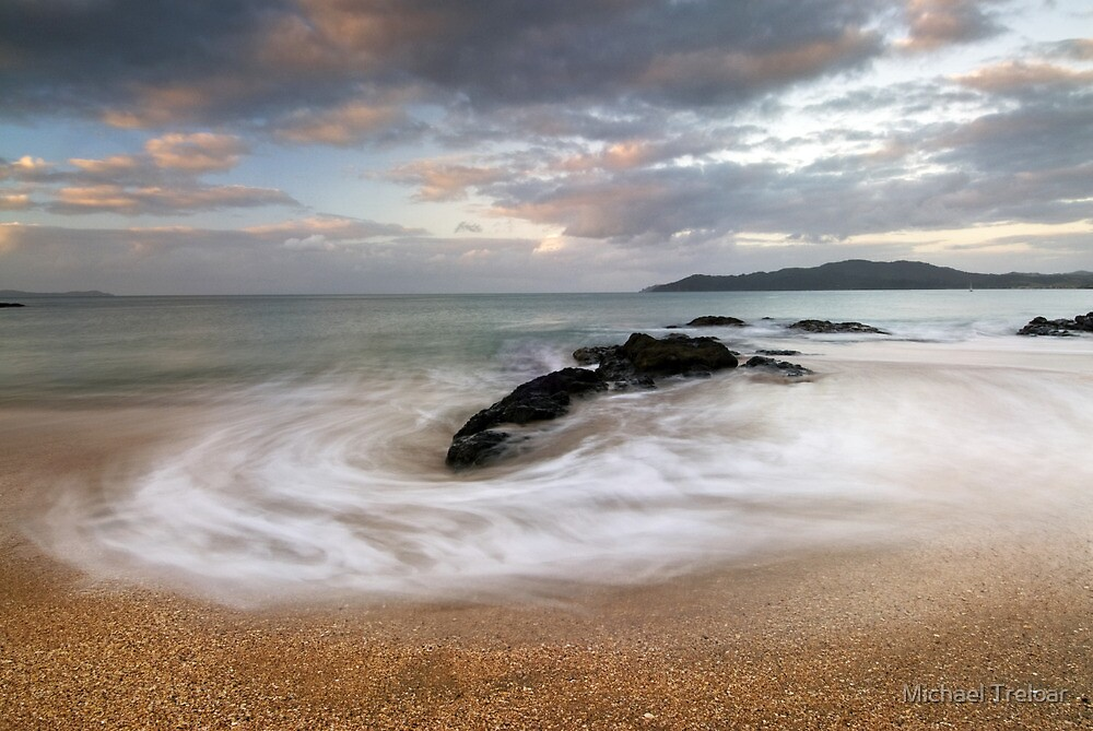 Sunset swirl by Michael Treloar