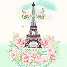 Eiffel Tower in spring by Wendy Paula Patterson