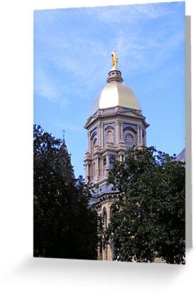 Main Building ~ Notre Dame University by Marie Sharp