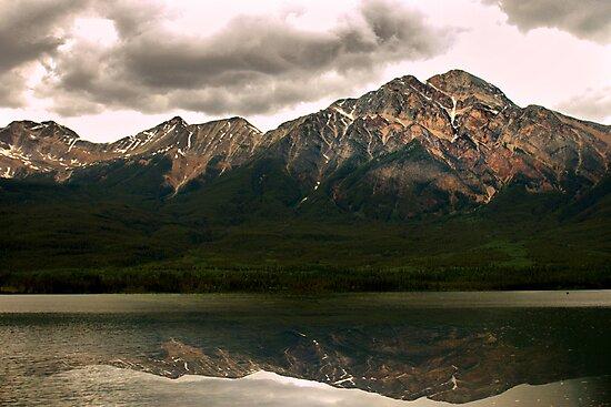 Patricia Lake & Pyramid Mountain  by Sean Jansen