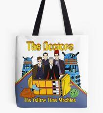 The Yellow Time Machine Tote Bag