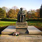 Monument of Ignacy Jan Paderewski - Warsaw, Poland by Lukasz Godlewski