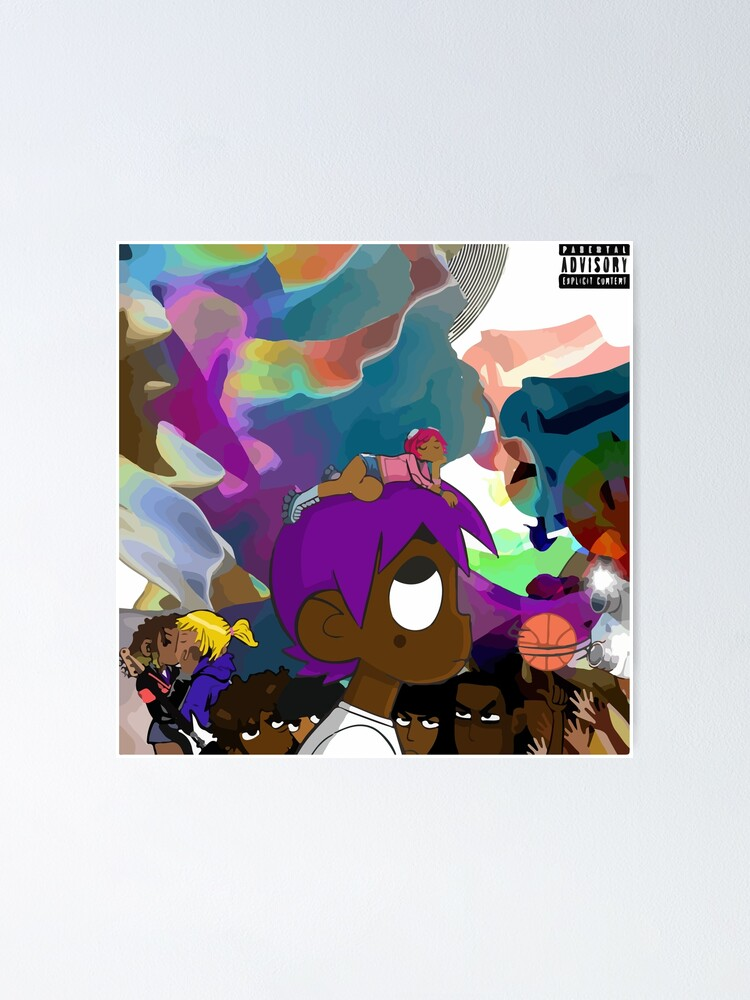 Alternate view of Luv is Rage 2 Album Cover Poster