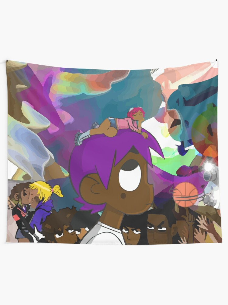Alternate view of Luv is Rage 2 Album Cover Wall Tapestry