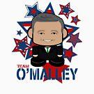Team O'Malley Politico'bot Toy Robot by Carbon-Fibre Media