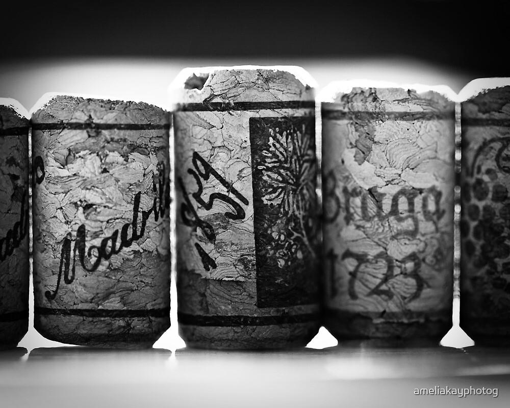 Line Of Corks by ameliakayphotog