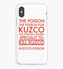 The Poison. in red iPhone Case/Skin