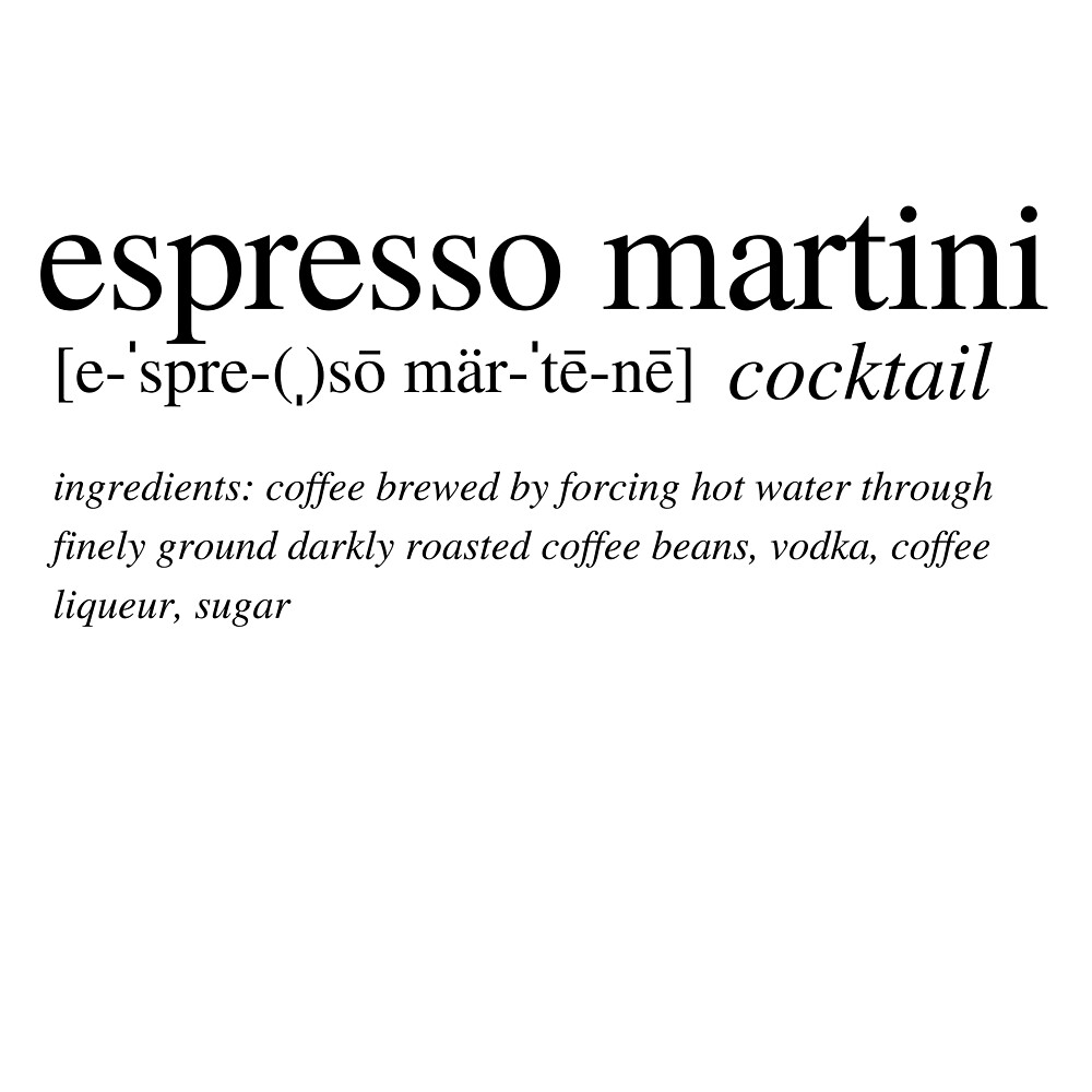 Espresso Martini - The cocktail that wakes you up and then *&^*s you up! by ALushLifeManual