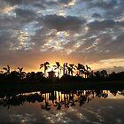 Sonnenuntergang Paradies von TheBankArtist