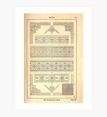 A Handbook Of Ornament With Three Hundred Plates Franz Sales Meyer 1896 0157 Bands Interlacement Art Print