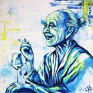 """""""Happy End"""" Porträt Oma by #carographic  von carographic"""