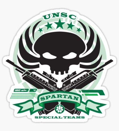 USNC Spartans - Special Teams Sticker