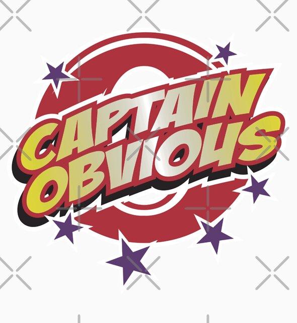 Captain Obvious by DetourShirts