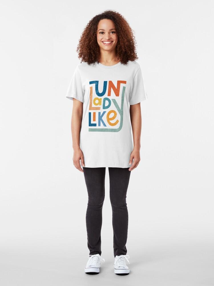 Alternate view of UNLADYLIKE Slim Fit T-Shirt