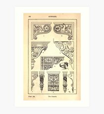 A Handbook Of Ornament With Three Hundred Plates Franz Sales Meyer 1896 0254 Supports Console Art Print
