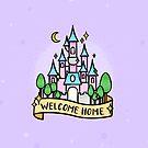 Willkommen zu Hause Magic Princess Fairytale Castle. von tachadesigns