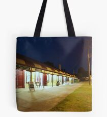 Quiet night at the hotel Tote Bag