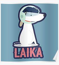 Laika - Erster Hund im All Poster