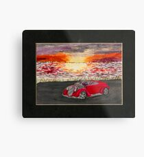 Sunset Cruiser Metal Print
