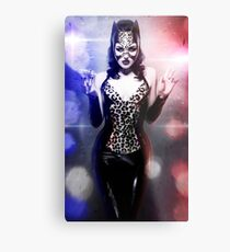 Catwoman - Caught in the act Metal Print