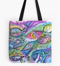 Took my mind for a walk one day (best viewed larger) Tote Bag