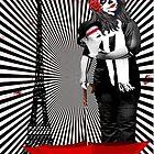 Komm und mach mit. Trash Polka No.22 Digitale Collagenkunst von TeAnne