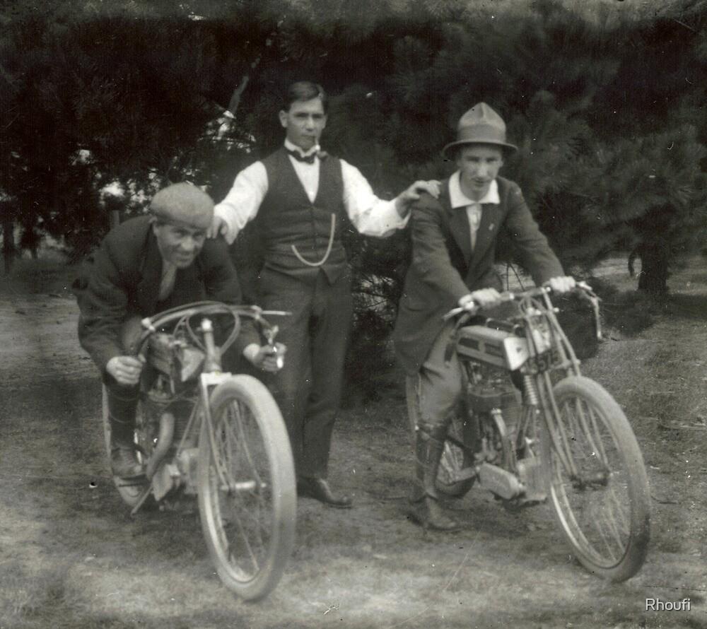 Old Bikers by Rhoufi