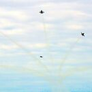 Angel Burst  - The Blue Angels by copperhead