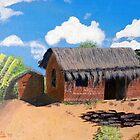 Pastors Rectory in Chimuavi Mozambique by Pieta Pieterse